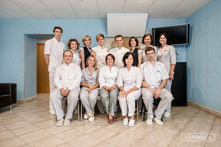 Коллектив клиники SANDORA